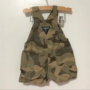 OshKosh Boys Camp Bib Overalls 6m